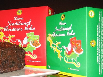 Lions Christmas Cakes